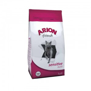Arion Cat Sensitive Lamb&Rice 15 kg