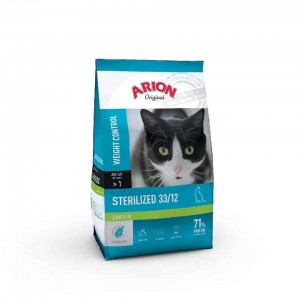 Arion Cat Sterilized 33/12 Chicken 7,5kg