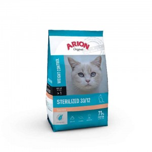 Arion Cat Sterilized 33/12 Salmon  2kg